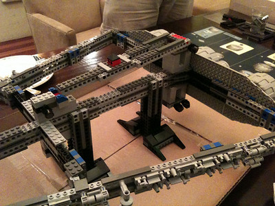 2009 Imperial Star Destroyer Project, the base is built. This thing is HUGE.