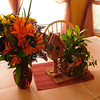Nice flowers on a sunny Thanksgiving - with temps in the 70's