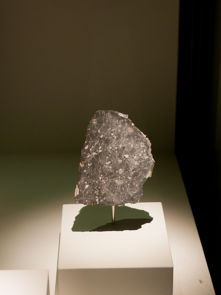 An other piece of the moon. Natural History Museum, London, England.
