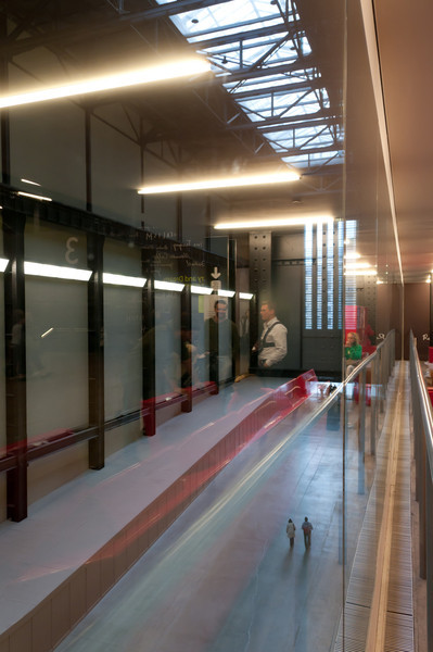 Inside the Tate Modern, London, England.