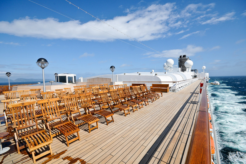 Such a warm looking day, just because it was windy and cold is no excuse not to be on deck.