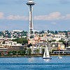 You can't visit Seattle without a photo of the Space Needle.