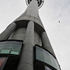 Sky Tower, Auckland New Zealand. Yes that is someone jumping from the tower on the right hand side!