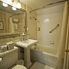 Bathroom in the Mayflower Park Hotel