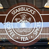 The first Starbucks, and the original logo