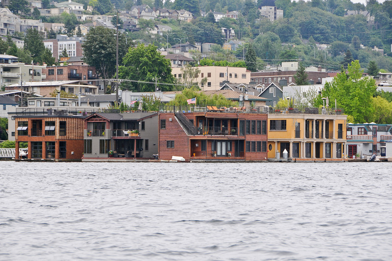Some very expensive floating homes