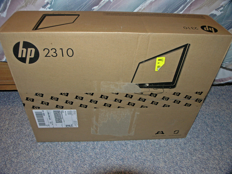 Dec 17.  Today my new monitor arrived.  The new computer probably will get here tomorrow.
