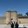 CARCASSONNE - Entrée du chateau Comtal