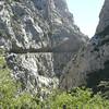 Route Départementale 7 dans les gorges de GALAMUS