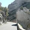 Route traversant les gorges de GALAMUS