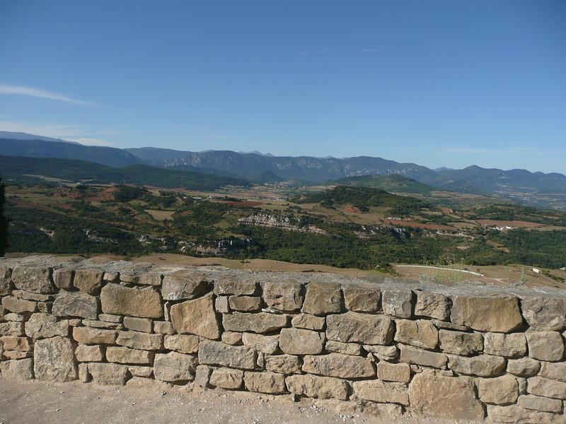 Chaine des Pyrénées depuis RENNES le CHATEAU