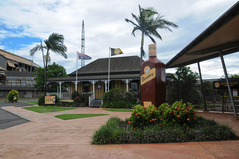 The home of Bundaberg Rum. Pity we weren't allowed cameras on the tour.