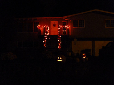 2010, October 31st:  Pumpkins on Halloween