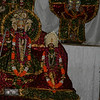 Temple with deities of Radha and Meera