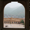 Amber Palace. A rather cloudy day so could not get depth of the landscape
