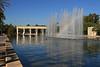 Park v prázdném korytě řeky ve Valenici
