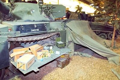 Duxford Air Museum, Land Warfare Exhibitin