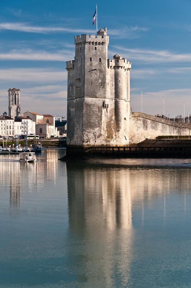 Tour St. Nicolas. La Rochelle France.