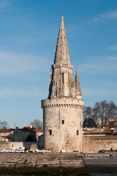 Tour de la Lanterne. La Rochelle France