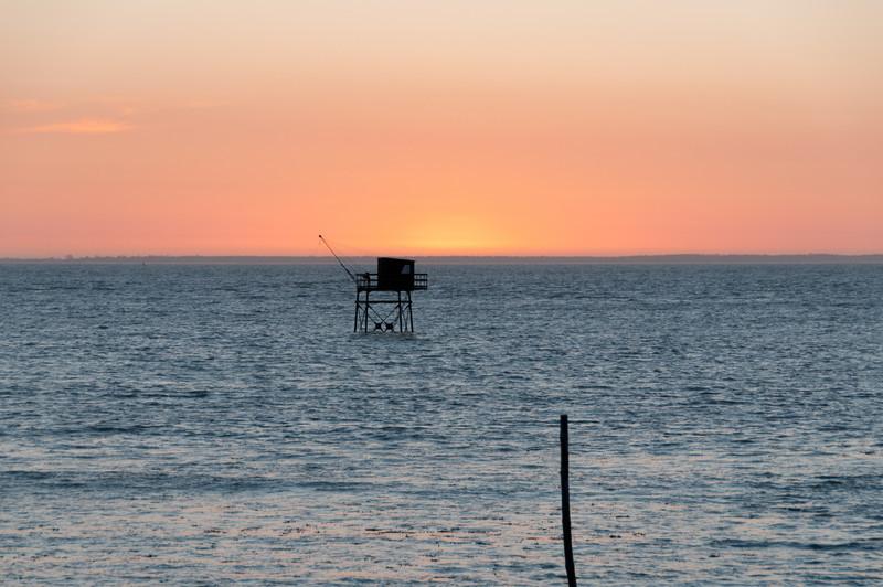 La côte, les alentours de la rochelle.