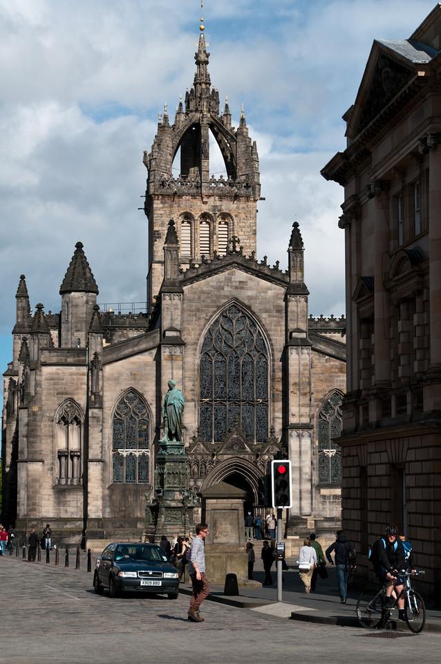 St. Gilles Cathedral Edinburgh, Scotland.