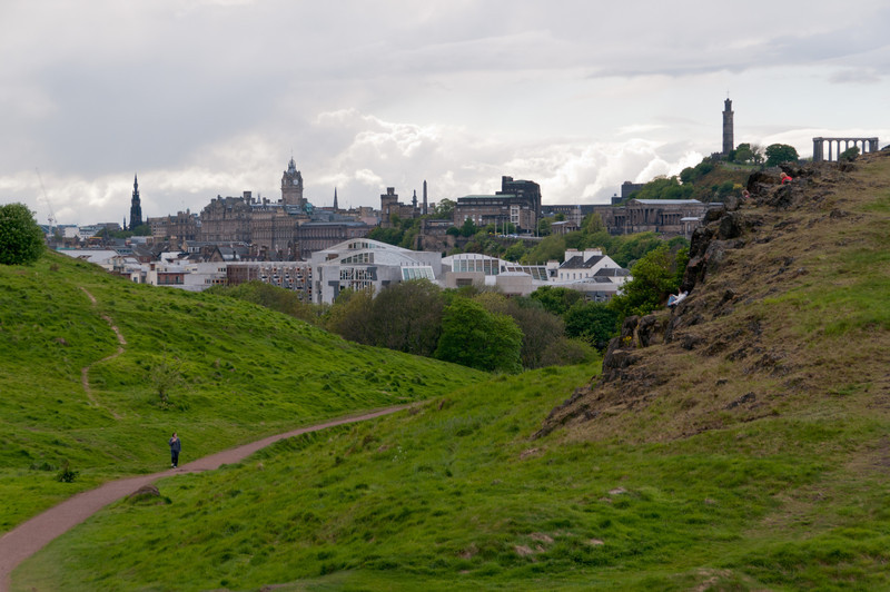 Hollyrood park, Edinburgh Scotland.