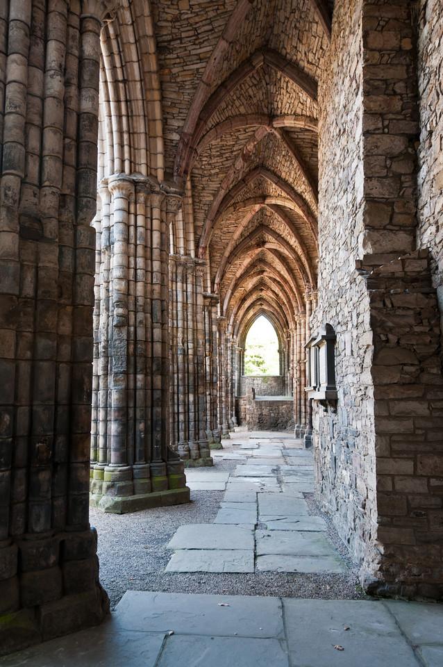 holyrood abbey. Edinburgh Scotland.