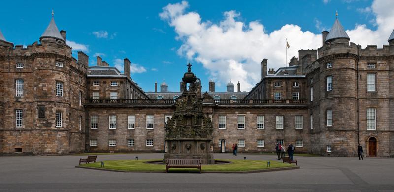 Palace of Holyroodhouse. Edinburgh Scotland.
