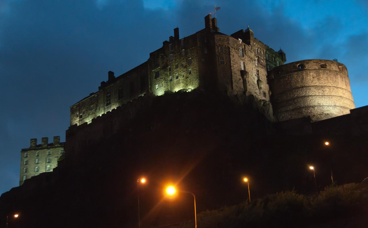 Edinburgh Castle. Scotland.