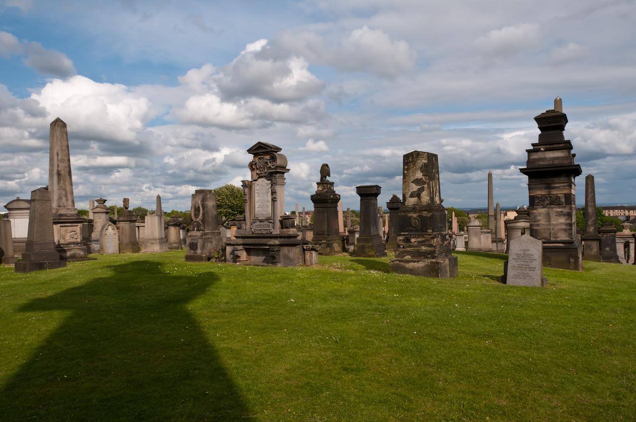 Glasgow Necropolis. Glasgow, Scotland.