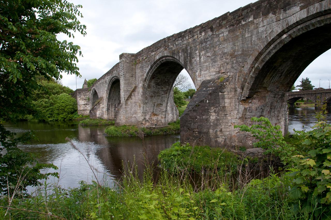 "Stirling ""old bridge"" (15th century). Stirling Scotland."