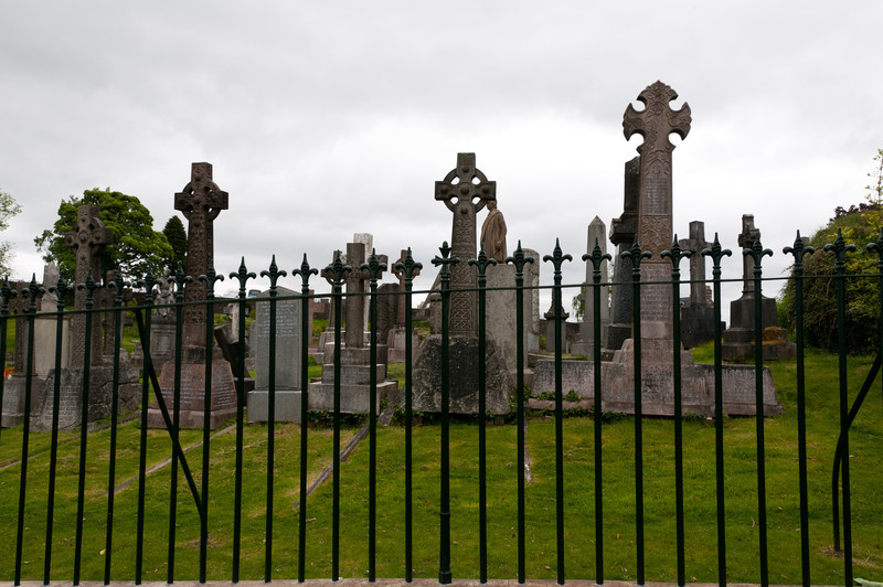 Old graveyard, Stirling, Scotland.