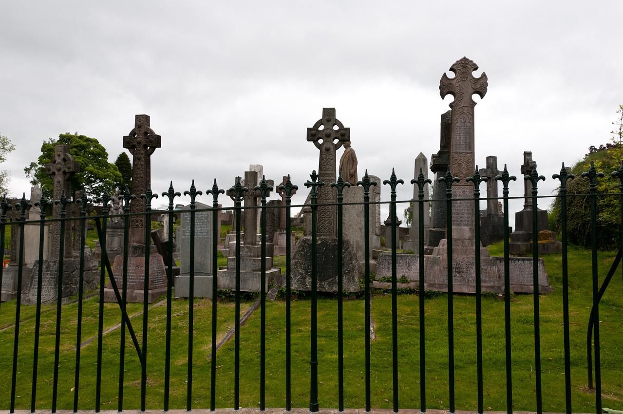 Old graveyard, Stirling, Scotland.