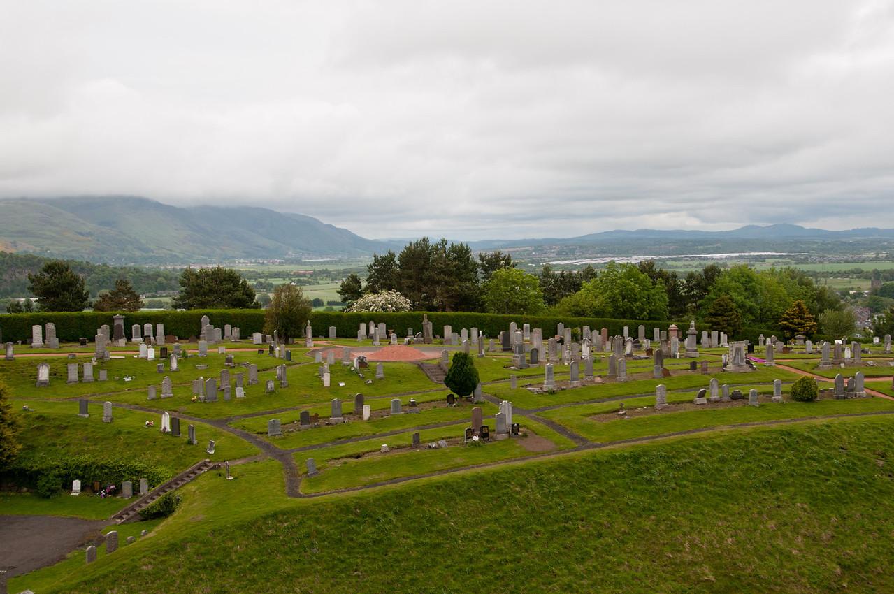 Graveyard, near stirling castle, Stirling, Scotland.
