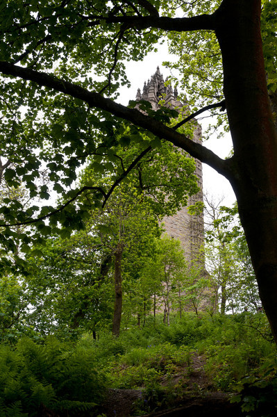 Wallace Monument, Stirling, Scotland.