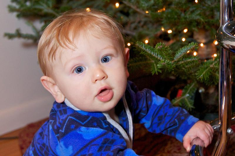 Clara & Kieran Decorate the Tree & Visit Santa