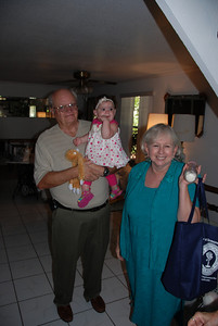 Bruce and Susan with third grandkid,..Izabella. Lori and Kenneth's 3rd child.