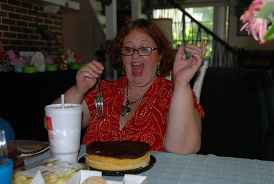 No, Lori, you must share the Boston Cream Pie - especially with  Aunt Andrea!