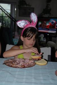 Ham sandwich Jenny style...