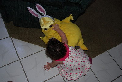 ...very strange Easter Bunny.