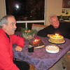 It was also a time to celebrate December birthdays for Tim and Roger.  Friends for over thirty years.