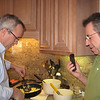 Danny and Pam continued a long Christmas tradition with Christmas Day breakfast.  Dee and Danny do the cooking while taking a phone call from Aunt Elva in Texas.