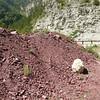 Tas de cailloux dans les Gorges Inférieures du CIANS