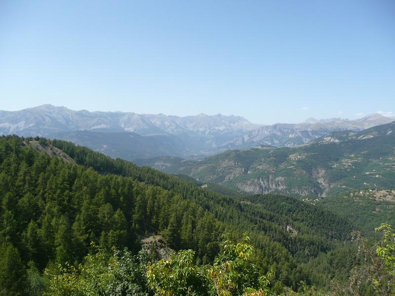 Les hauts sommets des Alpes du sud