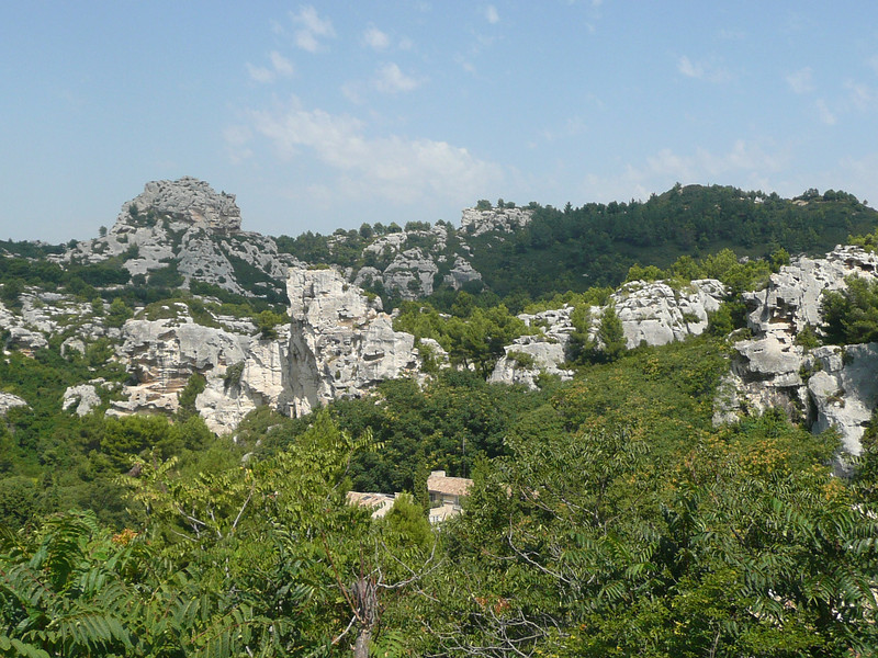 Carrières de pierre près des BAUX de PROVENCE (13)
