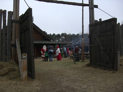 2011 Pioneer Christmas at Forest City Stockade