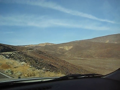 HWY 190 leaving Panamint Valley westbound.