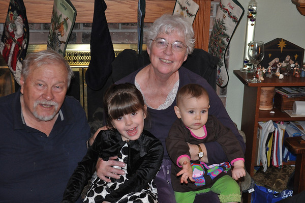 Christmas Antrobus Family Gathering 2011