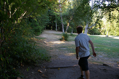 Disc golf - hole 7 - Seattle