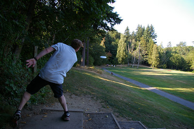Disc golf - hole 6 - Seattle